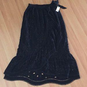 Brand new Maeve ruffle skirt